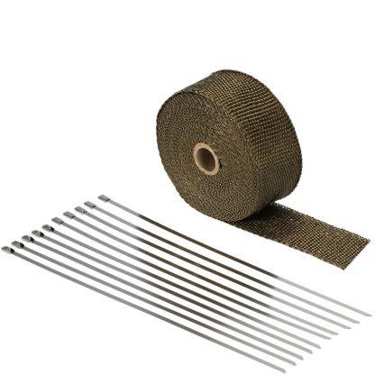 avgasbandage titanium med clipsband