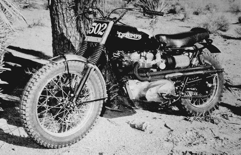 En scrambler från 60-talet
