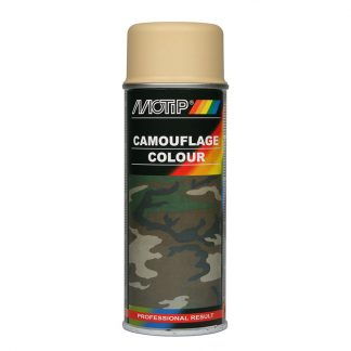 Kamouflage sprayfärg RAL1001 sand beige
