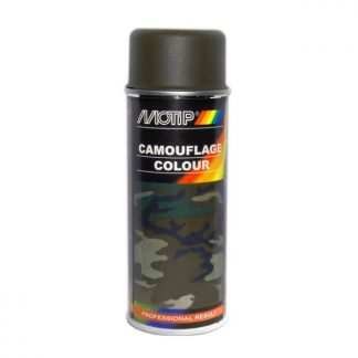 Kamouflage sprayfärg RAL6014 militärgrön 326H olivgrön