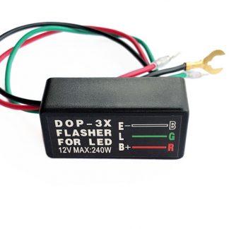 lastoberoende blinkersrelä 3 poler för LED