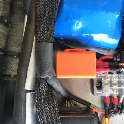 förgrening av kabelstam med kabelstrumpa