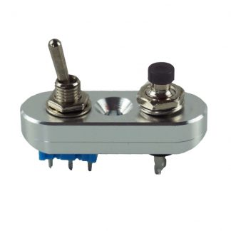 Mini-strömbrytare i CNC-fräst aluminium
