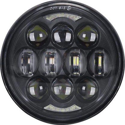 Framlampa LED med godkänd ljusbild